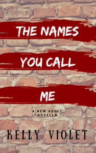Cover Art for The Names You Call Me by Kelly Violet