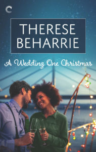 Cover Art for A Wedding One Christmas by Therese Beharrie