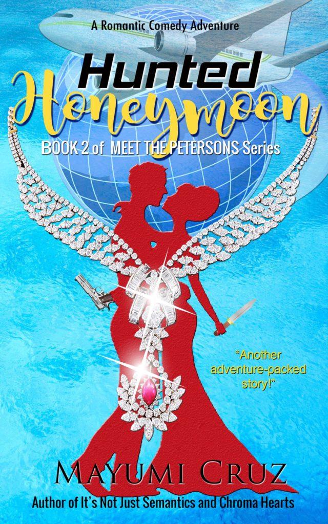 Cover Art for Hunted Honeymoon by Mayumi Cruz