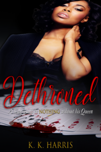 Cover Art for Dethroned by K. K. Harris