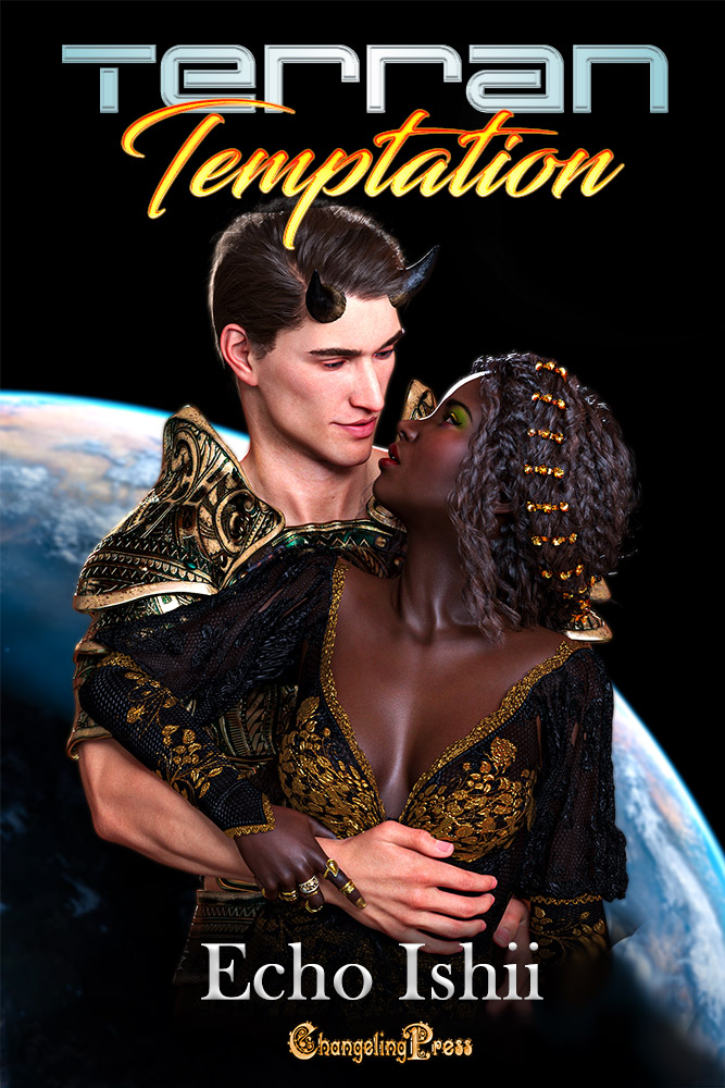 Cover Art for Terran Temptation by Echo Ishii