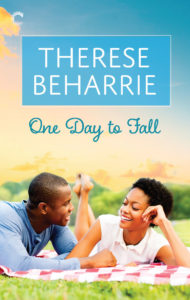 Cover Art for One Day to Fall by Therese Beharrie