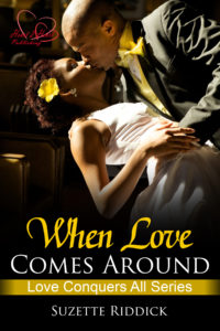 Cover Art for When Love Comes Around by Suzette Riddick