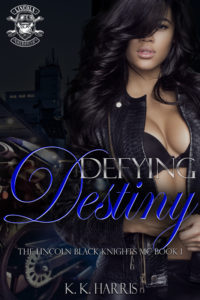 Cover Art for Defying Destiny by K. K. Harris