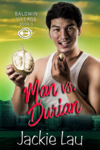 Cover Art for Man vs. Durian by Jackie Lau
