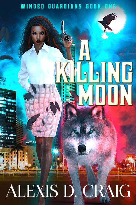 Cover Art for A Killing Moon by Alexis D.  Craig