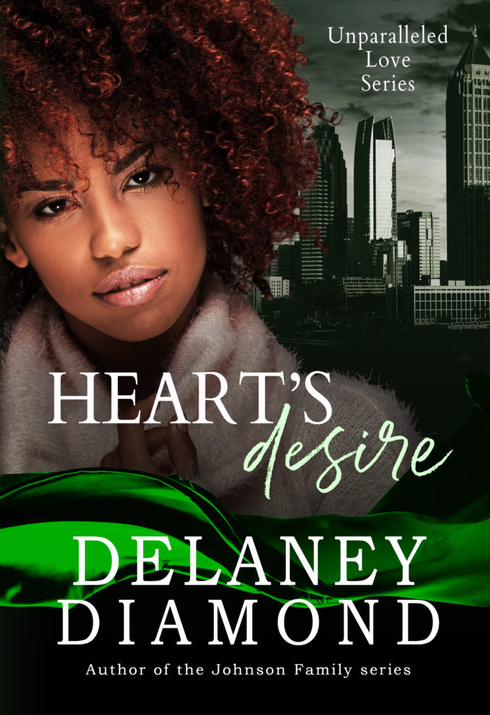 Cover Art for Heart's Desire by Delaney Diamond