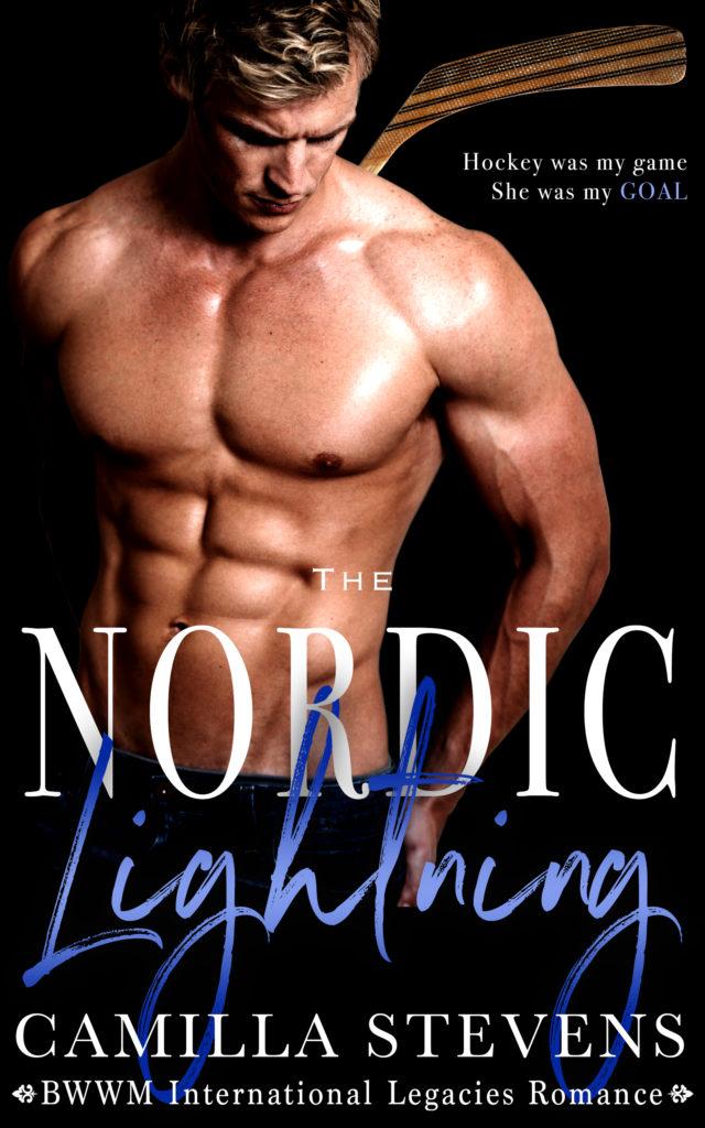 Cover Art for Nordic Lightning by Camilla Stevens