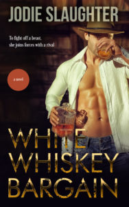 Cover Art for White Whiskey Bargain by Jodie Slaughter