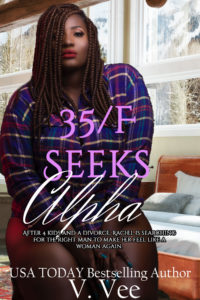 Cover Art for 35/F Seeks Alpha by V. Vee