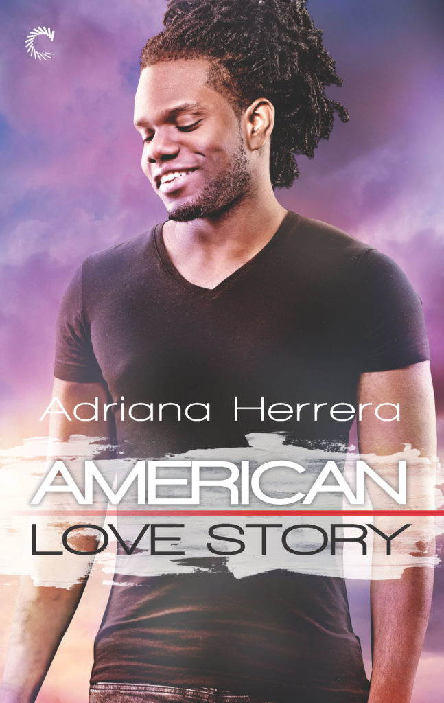 Cover Art for American Love Story by Adriana Herrera