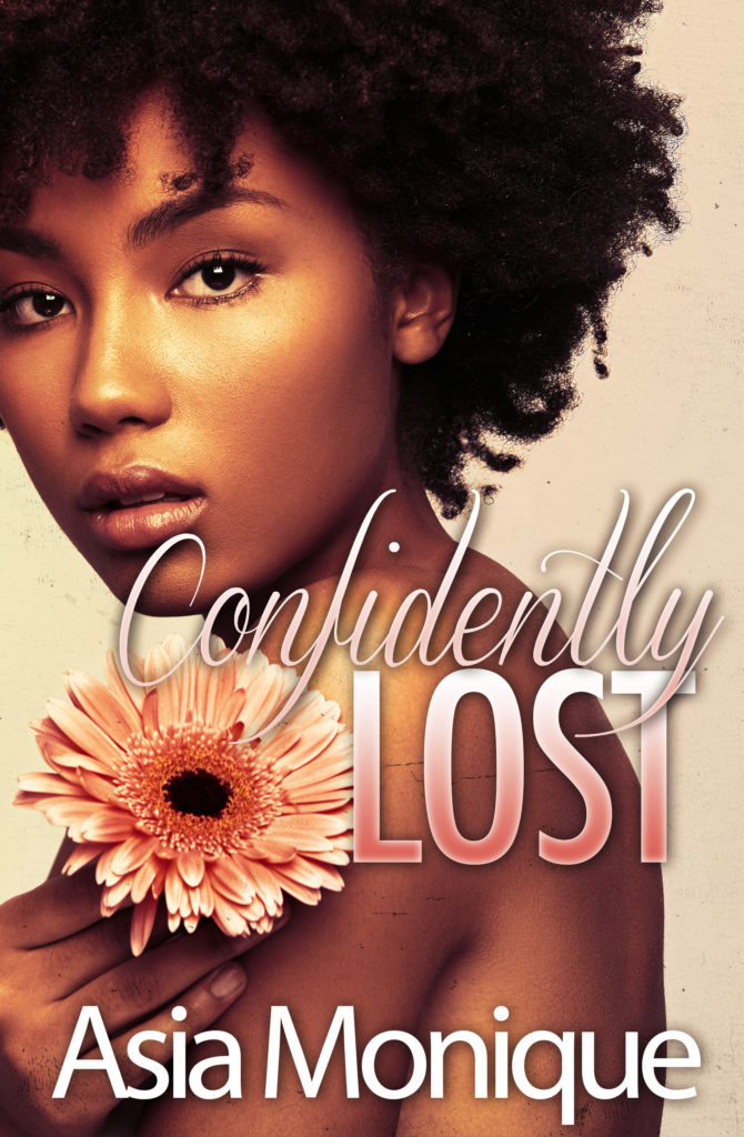 Cover Art for Confidently Lost by Asia  Monique