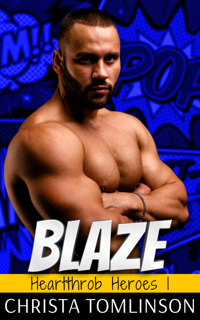 Cover Art for BLAZE by Christa Tomlinson