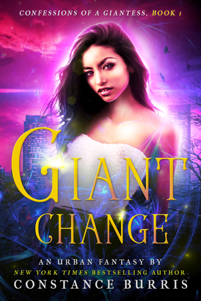 Cover Art for Giant Change: Confessions of a Giantess by Constance Burris