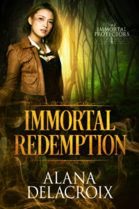Cover Art for Immortal Redemption by Alana Delacroix