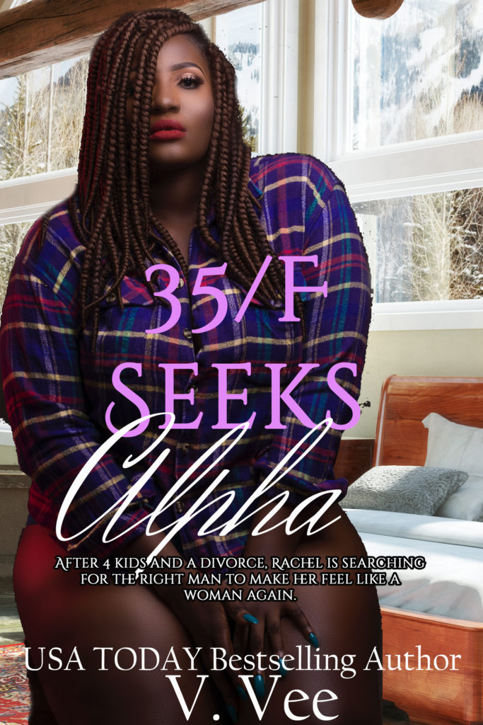 Cover Art for 35/F Seeks Alpha (Rachel & Ryan, 1) by V. Vee