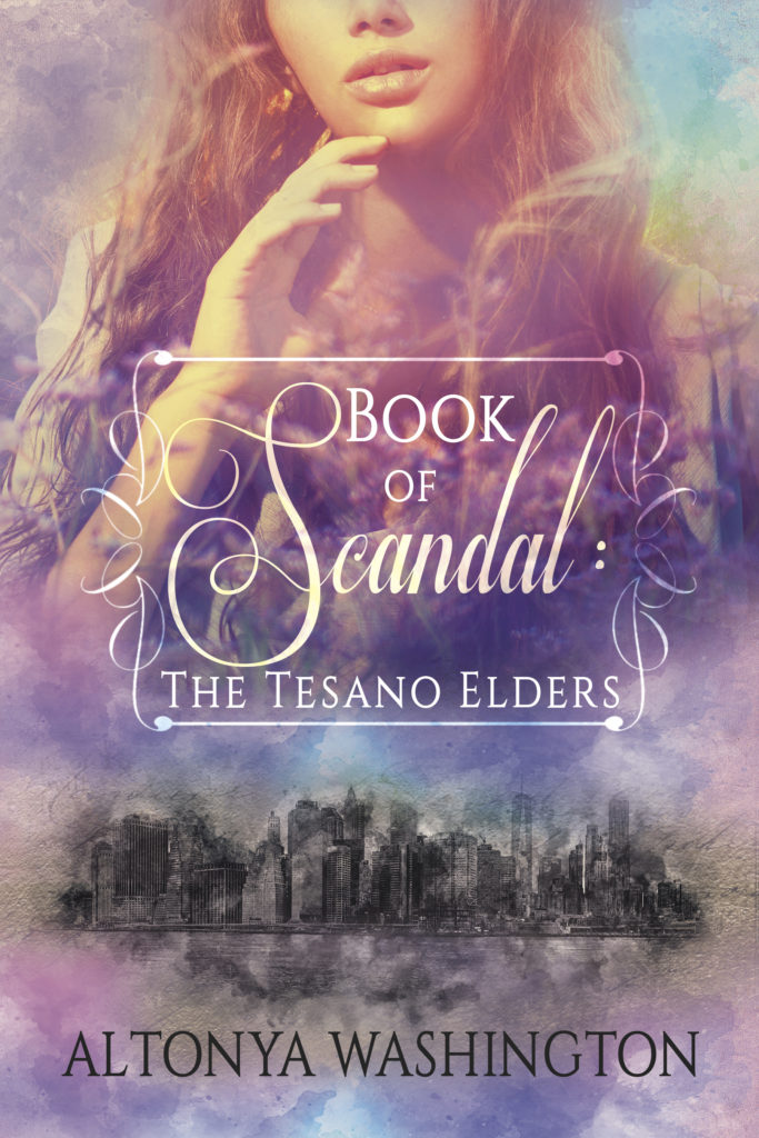 Cover Art for Book of Scandal: The Tesano Elders by AlTonya Washington