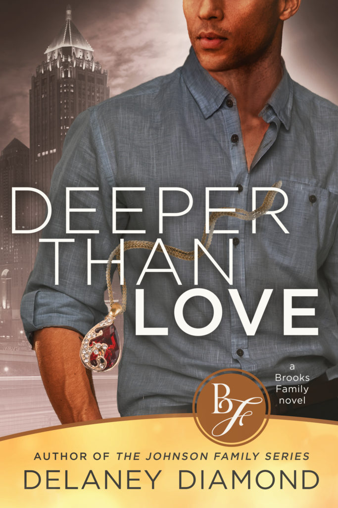 Cover Art for Deeper Than Love by Delaney Diamond