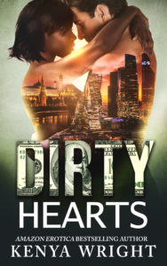 Cover Art for Dirty Hearts (Book 3 Lion and Mouse) by Kenya  Wright