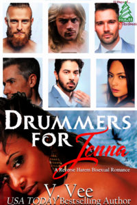 Cover Art for Drummers For Jenna by V. Vee