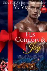 Cover Art for His Comfort & Joy by V. Vee