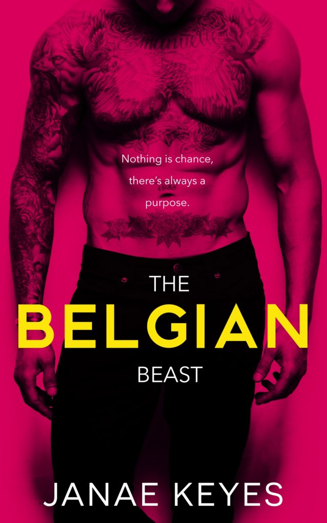 Cover Art for The Belgian Beast by Janae Keyes