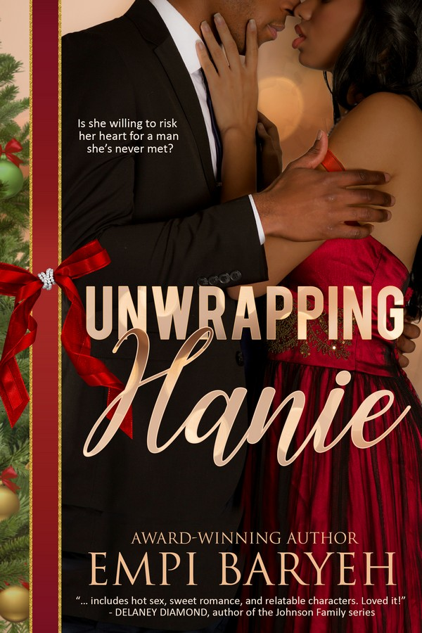Cover Art for Unwrapping Hanie by Empi Baryeh