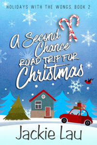 Cover Art for A Second Chance Road Trip for Christmas by Jackie Lau