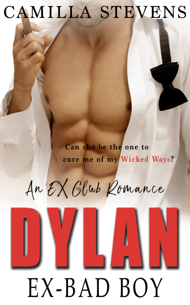 Cover Art for Dylan: Ex Bad Boy by Camilla Stevens