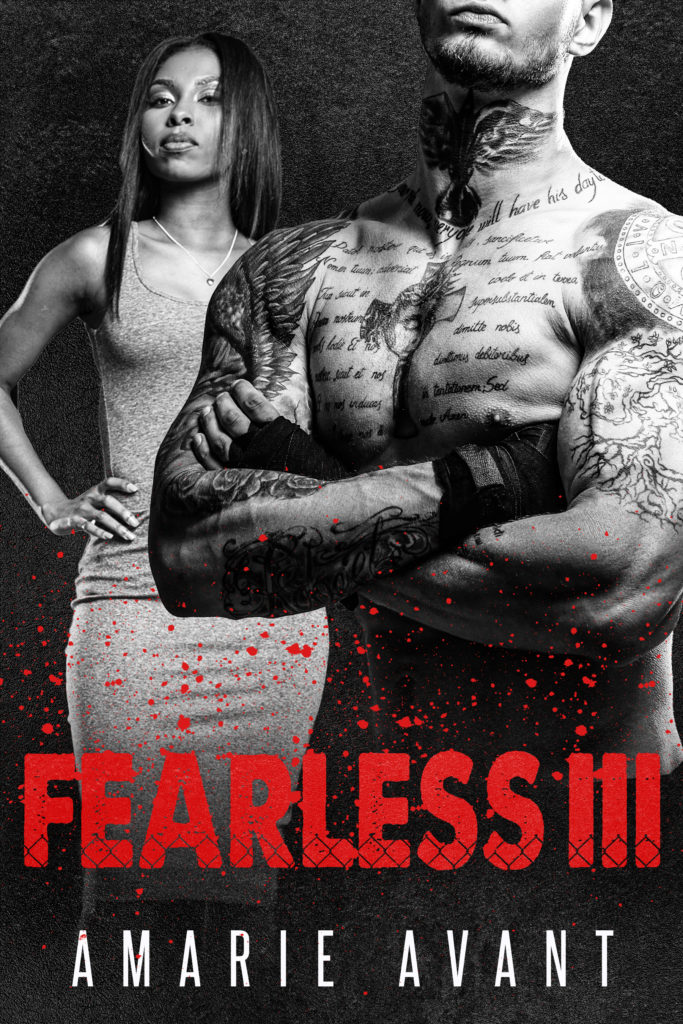 Cover Art for Fearless III by Amarie Avant