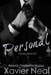 Cover Art for Personal (Private Series #3) by Xavier Neal