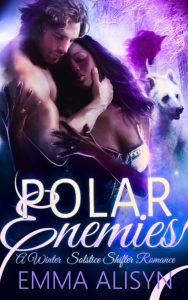 Cover Art for Polar Enemies by Emma Alisyn