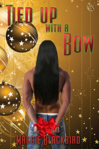 Cover Art for Tied Up with a Bow by Maggie Blackbird