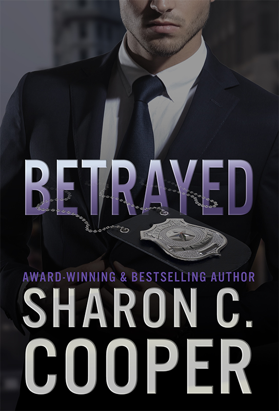 Cover Art for Betrayed by Sharon C  Cooper