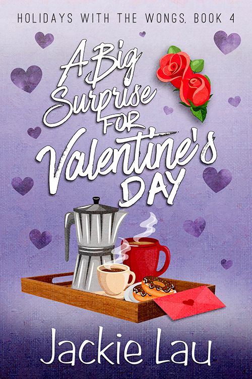 Cover Art for A Big Surprise for Valentine's Day by Jackie Lau