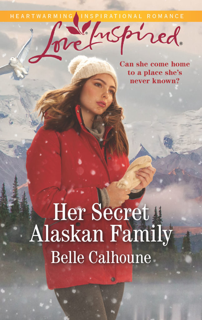 Cover Art for Her Secret Alaskan Family by Belle Calhoune