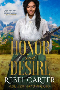 Cover Art for Honor and Desire by Rebel  Carter