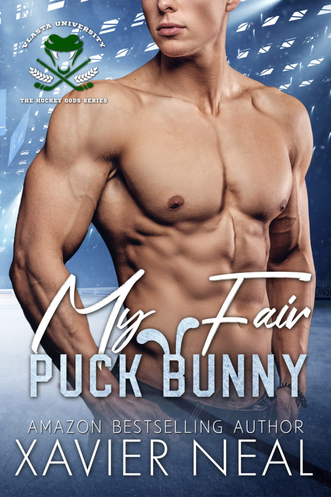 Cover Art for My Fair Puck Bunny (The Hockey Gods Series #2) by Xavier Neal