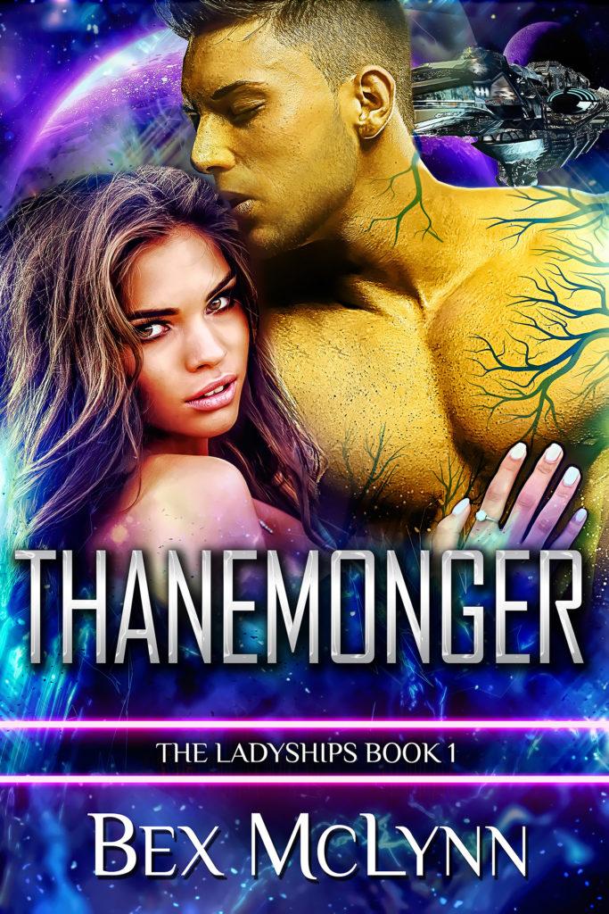 Cover Art for Thanemonger by Bex McLynn