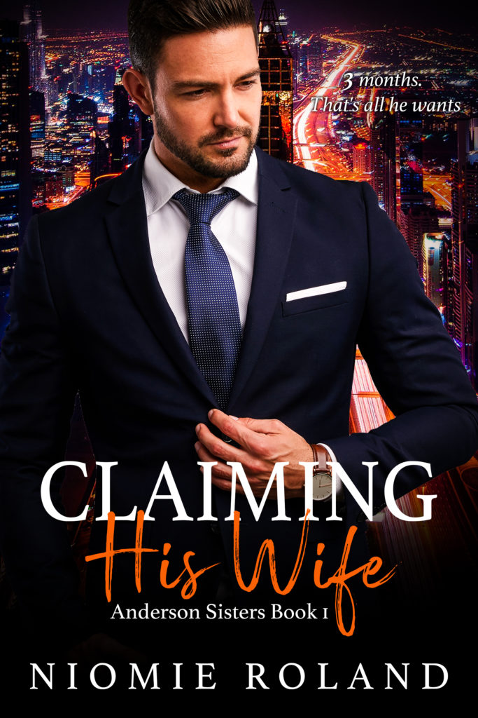 Cover Art for Claiming His Wife by Niomie Roland