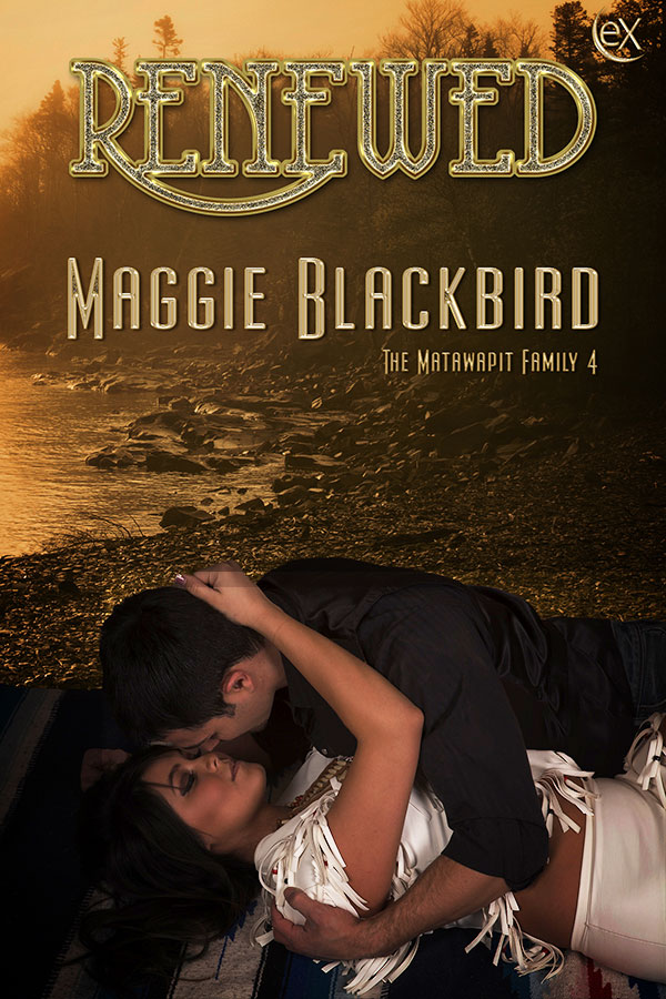 Cover Art for Renewed by Maggie Blackbird