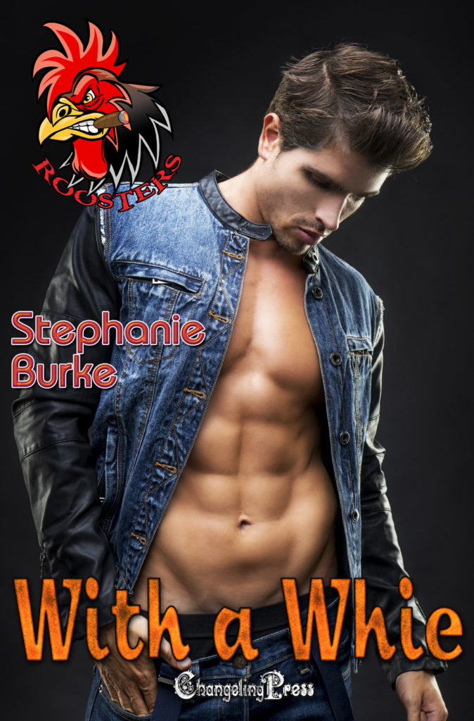 Cover Art for With A Whie by Stephanie Burke