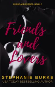 Cover Art for Friends and Lovers by Stephanie Burke
