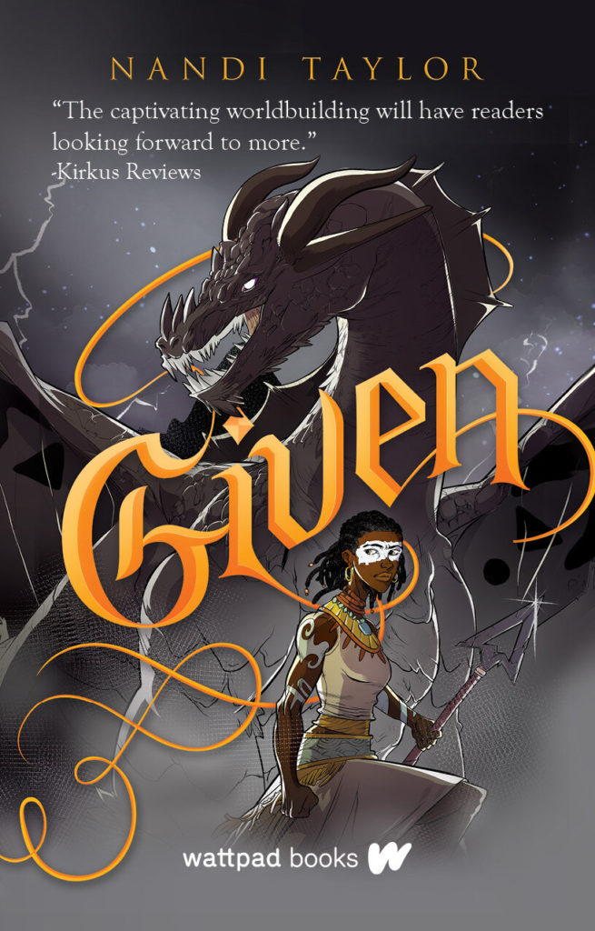 Cover Art for Given by Nandi Taylor