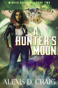 Cover Art for A Hunter's Moon by Alexis D.  Craig