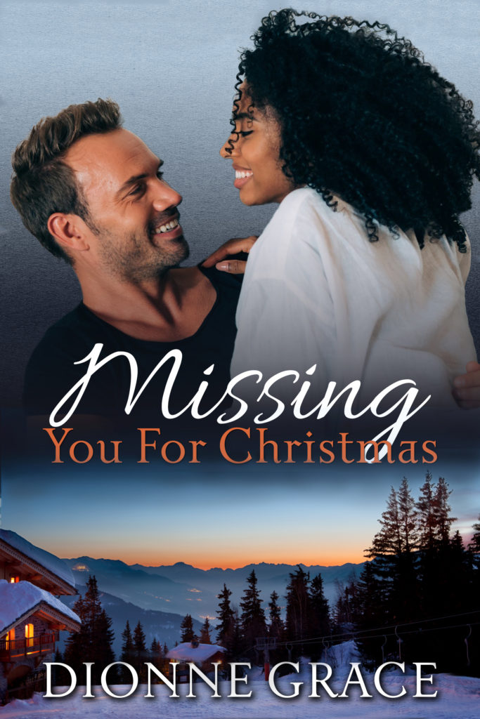 Cover Art for Missing You For Christmas by Dionne Grace