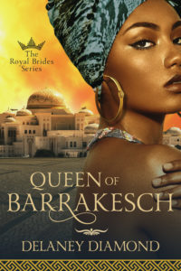 Cover Art for Queen of Barrakesch by Delaney Diamond