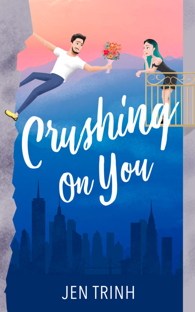 Cover Art for Crushing on You by Jen Trinh