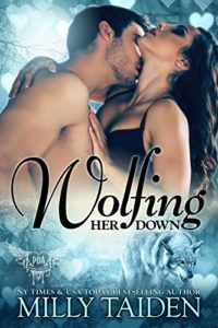 Cover Art for Wolfing Her Down by Milly Taiden