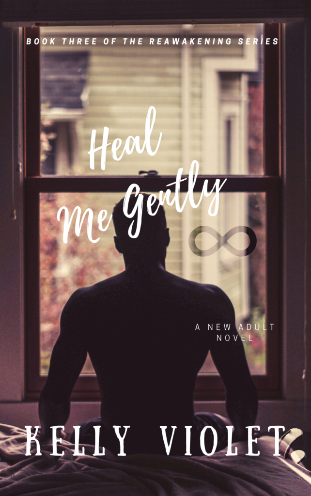 Cover Art for Heal Me Gently by Kelly Violeta